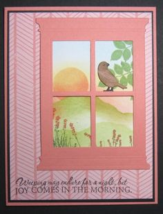WT422 - Joy in the Morning by allee's - Cards and Paper Crafts at Splitcoaststampers