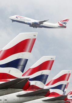 British Airways Boeing B747