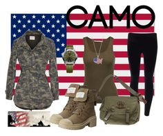 """""""Honoring our Troops"""" by rlshaw on Polyvore featuring Velvet by Graham & Spencer, MICHAEL Michael Kors, Ralph Lauren, Victorinox Swiss Army, Marc by Marc Jacobs, LogoArt and camostyle"""