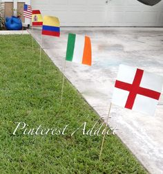 Flags for Olympic Party Decor