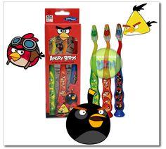 Cepillos dentales Firefly Angry Birds a $0.99 en Walgreens