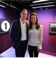 .Prince William and Kate.