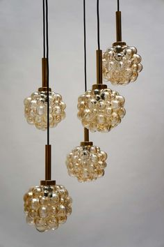 Bubble Chandelier By Helena Tynell circa 1960s | From a unique collection of antique and modern chandeliers and pendants  at https://www.1stdibs.com/furniture/lighting/chandeliers-pendant-lights/