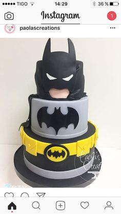 Batman Cake - Batman Party - Ideas of Batman Party - Batman Cake Lego Batman Party, Fiesta Batman Lego, Lego Batman Birthday Cake, Lego Batman Cakes, Avengers Birthday, Superhero Cake, Superhero Birthday Party, Cake Birthday, 5th Birthday