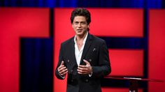 Bollywood star Shah Rukh Khan's TED message: Love is the future - CBC.ca #FansnStars