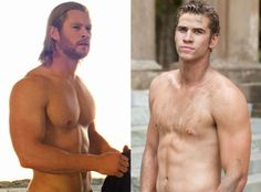 The Hemsworth Brothers...
