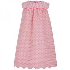 La+Stupenderia+Neon+Polka+Dot+Dress+at+alexandalexa.com