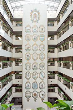 Atrium Garden at Lotte Hotel Moscow