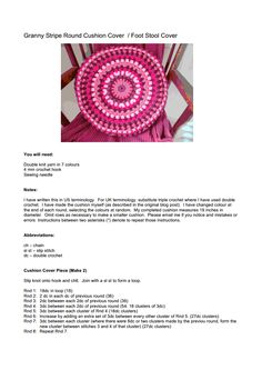 My Granny Stripe Round Cushion Cover.pdf - Google Drive