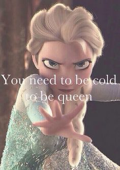 The combination of frozen and gossip girl makes this too much to handle