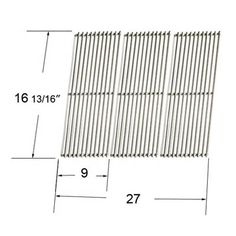 heavy duty bbq parts gloss cast iron cooking grid for charbroil brand gas - Char Broil Gas Grill Parts