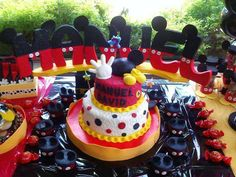 Mickey Mouse Birthday Party Ideas | Photo 2 of 12 | Catch My Party