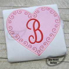 Swirly heart - Beau Mitchell Boutique