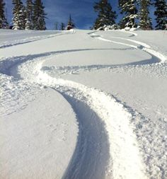 First tracks at Heavenly Mountain Resort.