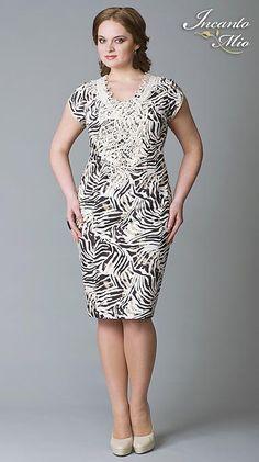 Платья больших размеров белорусского бренда Inkanto Mio. Весна-лето 2013 Dresses For Work, Formal Dresses, Sally, Plus Size, Sewing, Nice, Fashion, Rose Dress, Block Dress