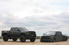 low pickup truck