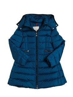 MONCLER - CHARPAL NYLON TECHNIQUE DOWN COAT - LUISAVIAROMA - LUXURY SHOPPING WORLDWIDE SHIPPING - FLORENCE