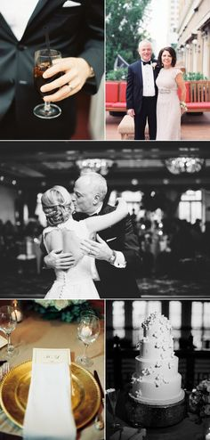 Heather and Lawrence's beautiful wedding at InterContinental Stephen F. Austin.
