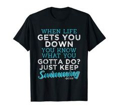 funny swimming quotes - Google Search Blank Bar Graph, Bar Graphs, Swimming, Google Search, Funny, Quotes, Mens Tops, T Shirt, Life