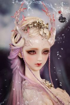 Bing Yi is the girl bjd which have a white and cute face. It is one of the cm) from A-STUDIO-DOLL which have released a lot of pretty girl bjd doll. Bjd Doll, Ooak Dolls, Barbie Dolls, Pretty Dolls, Beautiful Dolls, Enchanted Doll, Anime Dolls, New Dolls, Fantasy Girl