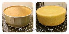 Mandy's baking journey: Genoise sponge recipe