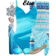 """Elsa Swimwear"" by amarie104 on Polyvore"