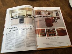 Here's our Tillingham kitchen featured in the January 16 issue of Life & Home in Essex alongside our advert which features one of the displays in our Colchester showroom!