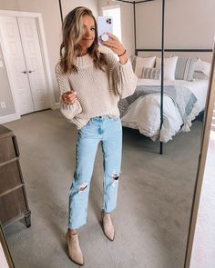 Outfits Otoño, Trendy Fall Outfits, Cute Casual Outfits, Winter Fashion Outfits, Fall Winter Outfits, Autumn Winter Fashion, Casual Winter, Women's Casual, Casual Fall Fashion