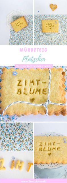 Ein Keks für einen Backblog: Zimtblume Plätzchen aus Mürbeteig via @DieZimtblume