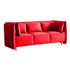 Sofata Sofa - Red $898.99 www.mundyshops.com Modern designed sofa built with solid materials and covered with high quality soft wool fabric providing luxurious seating for utmost relaxation. Available in many colors as chair, loveseat and sofa. Sofa and loveseat come with 2 matching cushions.