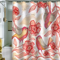 DENY Designs Home Accessories | Cori Dantini Sprinkling Sound Shower Curtain Sale Item