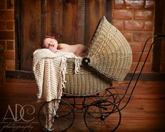 ADC Photography - baby in vintage carriage  www.adc-photography.com