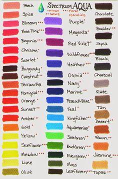 nuancier pour promarker outils fiches pratiques pinterest tableaux de couleur mat riel. Black Bedroom Furniture Sets. Home Design Ideas