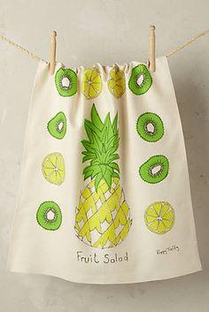 Fruit Salad Tea Towel