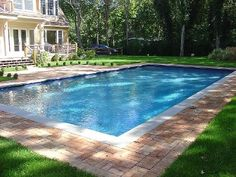 Elegant Gunite Pool Designs | Cold Spring Harbor Gunite Pool U0026 Spa I Do Like The  Reflecting Pool Part Reminds Me Of My Days As A Grad Student At SMU.