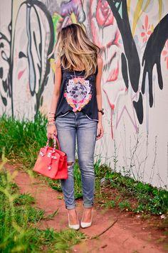 Meu look – Disco Cat! - Blog da Thássia