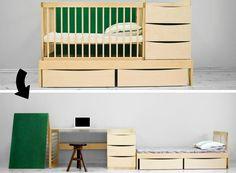 Mobiliário que acompanha a criança de 0 a 10 anos