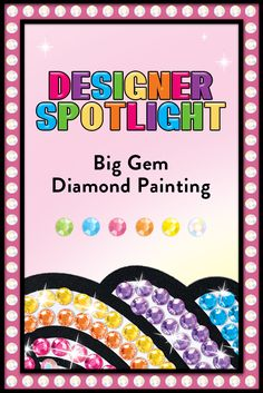 Your diamond painting questions answered! Craft Kits For Kids, Crafts For Kids, Disney Princess Toys, Gem Diamonds, Create And Craft, Painting For Kids, Dots, Make It Yourself, This Or That Questions
