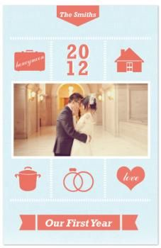 Something Blue by Melissa Cundiff for Minted.