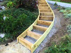 Delightful Construire Un Escalier De Jardin Vite Et Bien ... Sans Faire De Maçonnerie