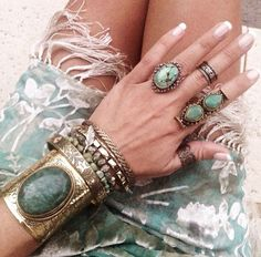 925 Silver Plated Turquoise Bangle Jewelry for Women Handmade Vintage Boho Style Cuff Bangle – Fine Jewelry & Collectibles Jewelry Box, Jewelry Accessories, Fashion Accessories, Fashion Jewelry, Jewellery, Jewelry Stores, Bohemian Accessories, Cheap Jewelry, Fine Jewelry