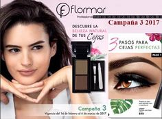 catalogo maquillaje cejas flormar c-3-2017