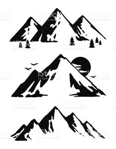 Mountain vector. Best images in