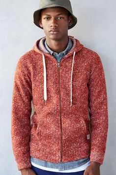 Native Youth Speckled Zip-Up Hoodie Sweatshirt - Urban Outfitters