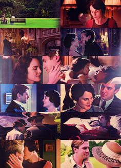 Lady Mary & Matthew Crawley neither of them were perfect but they were perfect for eachother