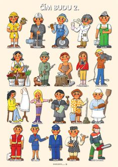 řemesla v MŠ - Hledat Googlem Community Workers, Community Helpers, Preschool Education, Teaching Kids, Learning English For Kids, Education English, Creative Kids, Child Development, Pre School