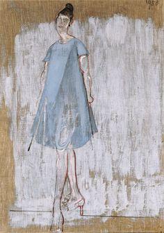 Varlin (Willy Leopold Guggenheim) (1900-1977), Miss Vacheron, 1958.