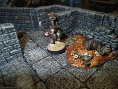 Dwarven Forge dungeon tiles