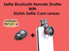 Selfie Bluetooth Remote Shutter For Mobile with Stylish Selfie Cam Lenses - For More Information Visit On: http://www.wholesalehungama.com/mobile/mobile-accessories/selfie-bluetooth-remote-shutter-for-mobile-with-stylish-selfie-cam-lenses-5266.html #mobile #mobileaccessories #selfiebluetooth