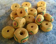 African Trade BeadsVintage Venetian Glass Beads16 by RedEarthBeads
